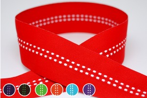 Double Dot Line Ribbon - Double Dot Line Ribbon