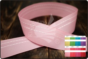 One-side Stitching Taffeta Ribbon