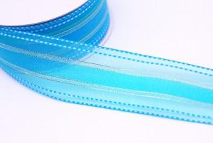 Satin-stitching Edge Organza Ribbon - Satin-stitching Edge Organza Ribbon
