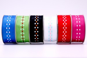 Eco-friendly Polka Dots Ribbon - Eco-friendly Polka Dots Ribbon