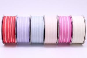 Organic Cotton Stripes Ribbon - Organic Cotton Stripes Ribbon
