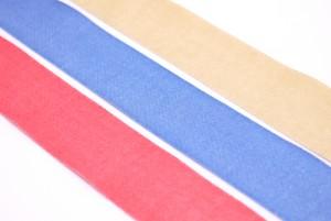 Solid Organic Cotton Ribbon - Solid Organic Cotton Ribbon