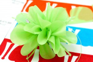 Pull Bow Flower Ribbon_PO-B2-K771 - Pull Bow (PO-B2-K771 )
