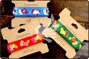 Colorful Christmas Stocking Ribbon - Christmas Stocking Ribbon