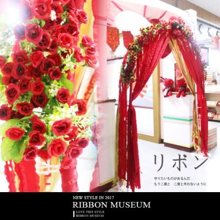 玫瑰花園小熊紅拱門 - 玫瑰花園小熊紅拱門