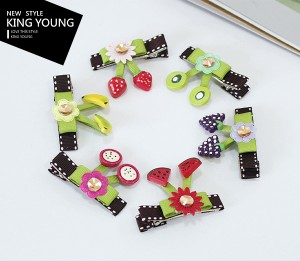 Fruit Platter Hair Clip