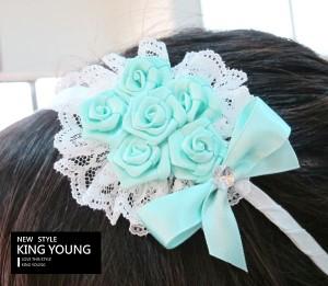婚禮花束髮箍