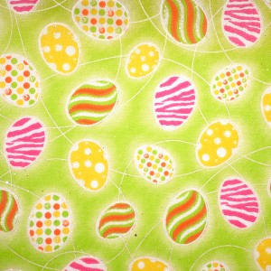 Easter Eggs Fabric - Easter Eggs Fabric