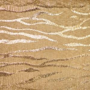 Aurum Zebra Metallic Fabric - Aurum Zebra Metallic Fabric