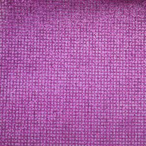 Purple Glitter Checks Organza Fabric - Purple Glitter Checks Organza Fabric