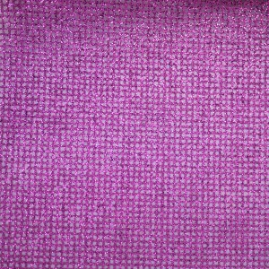 Purple Glitter Checks Organza Fabric - Purple Glitter Checks Organza Fabric