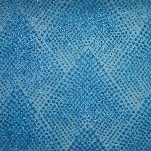 All Glitter Dots Organza Fabric - All Glitter Dots Organza Fabric