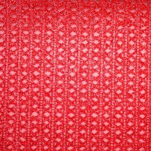 Glitter Diamonds & Stripes Organza Fabric - Glitter Diamonds and Stripes Organza Fabric