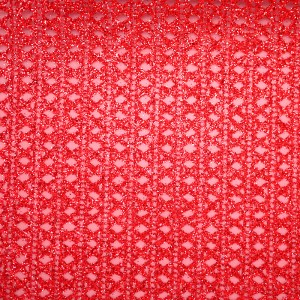 Glitter Diamonds & Stripes Organza Fabric - Glitter Diamonds and Stripes Organza Fabric