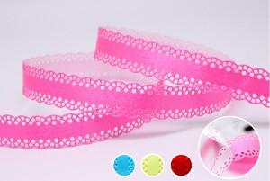 Pelam, et lignum Cutout Scallop Edge Ribbon - Pelam, et lignum Cutout Scallop Edge Ribbon