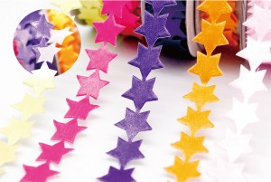 Peel and Stick Stars Ribbon - Peel and Stick Stars Ribbon