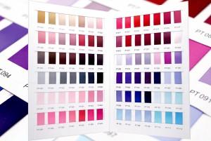 Polyester satijnen lint_Kleurenkaart - Polyester satijnen lint_Kleurenkaart