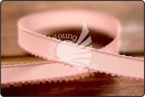 Scalloped 9mm Grosgrain Ribbon - Scalloped 9mm Grosgrain Ribbon