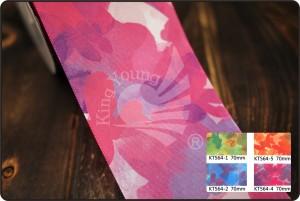 70mm Abstract Painting Print Ribbon - 70mm Abstract Painting Print Ribbon