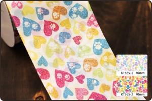 70mm Pet amor Print Ribbon - 70mm Pet amor Print Ribbon