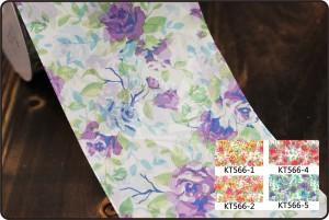 70mm Rose Print Ribbon - 70mm Rose Print Ribbon