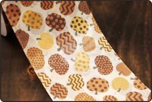70mm Pumpkin Print Ribbon - 70mm Pumpkin Print Ribbon