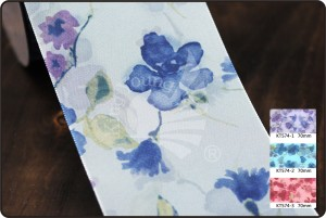 70 mm bloemenprint lint - 70 mm bloemenprint lint