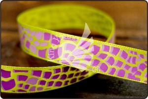 Animal Print Satin Ribbon - Animal Print Satin Ribbon