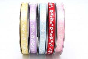 "3/8"" All Flowers Print Ribbon - 3/8"" All Flowers Print Ribbon"