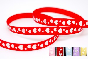 Iridescent Sweethearts Print Ribbon - Iridescent Sweethearts Print Ribbon