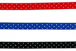 圓點羅紋織帶 - 圓點羅紋織帶 (PR549)