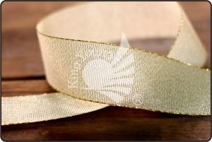 Pale Gold Metallic Ribbon - Pale Gold Metallic Ribbon