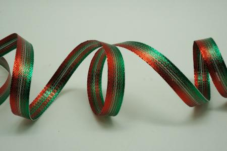 Narrow Ombre Metallic Ribbon