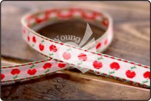 Cherry Jacquard Ribbon