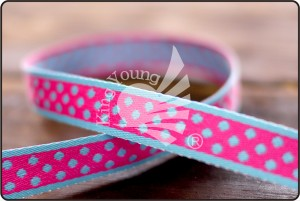 Small Dots Jacquard Ribbon - Small Dots Jacquard Ribbon