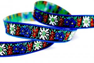 Flower/folk Style Jacquard Ribbon