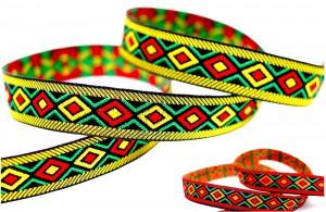 Folk Pattern Jacquard Ribbon - Folk Pattern Jacquard Ribbon