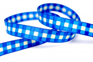 Gingham Jacquard Ribbon