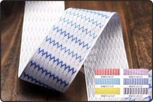 Chevron Jacquard Ribbon