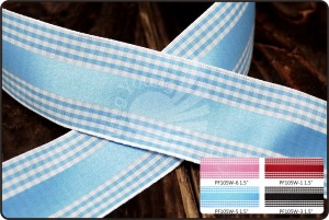 Plaid Ribbon_PF105W - Plaid Ribbon (PF105W)