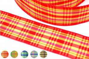 Plaid Ribbon_PF192W