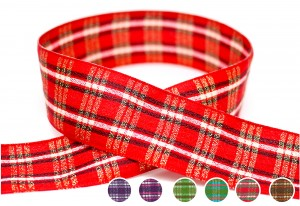 Plaid Ribbon_PF207M