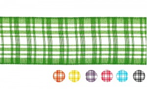 Plaid Ribbon_PF238 - Plaid Ribbon(PF238)
