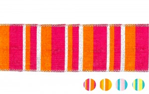 Fancy Stripe Ribbon_PF239 - Geruite Lint (PF239)