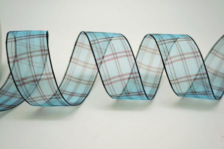 Sheer Plaid Ribbon - Sheer Plaid Ribbon