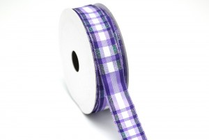 Plaid Ribbon_VPF128 - Plaid Ribbon(VPF128)