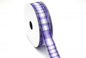 双边金葱格子织带 - 格子织带(VPF128)