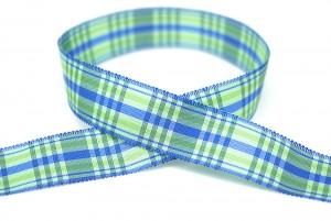 双边半圆立体格纹织带 - 格子织带(VPF192)
