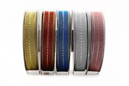 Bicolor Metallic Decorative Ribbon - Bicolor Metallic Decorative Ribbon