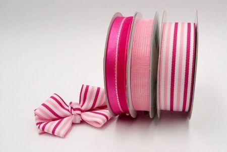 Pinky pink Woven Ribbon Set